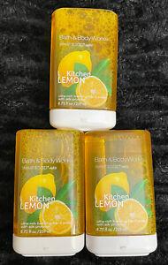 Lot Of (3) - Bath & Body Works KITCHEN LEMON SmartSoap Foaming Hand Soap Refill