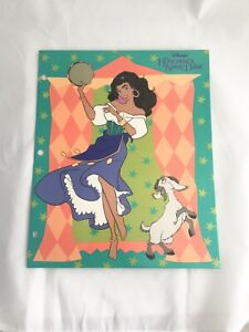 Esmerelda Disney Hunchback of Notre Dame Back 2 School Vintage 90s New Old Stock