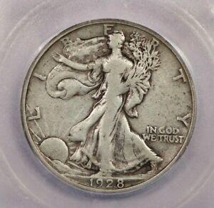1928-S 1928 Walking Liberty Half Dollar 50c ICG F12