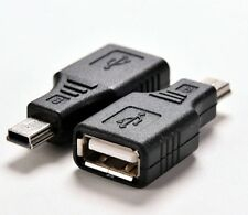 Adaptateur USB 2.0 vers Mini USB male/USB female Adapter to male Mini USB
