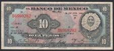 MEXICO 10 Pesos 26/06/1940 ( TEHUANA ) Serie N Pick - 35b VG