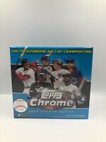 2020 MLB Topps Chrome Update Series Blue Box Sealed Baseball ( Factory Sealed )