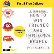How to Win Friends and Influence People by Dale Carnegie | PAPERBACK BOOK | NEW