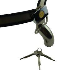 Grande ceinture de chasteté modèle hanches pour homme