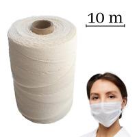 Gummikordel Ideal für Masken Gummiband Elastische Bänder Seil für Crafts 10 m