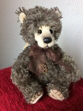 Charlie Bears  *Cogs*  L/E Mohair Bear  From The 2021 Collection