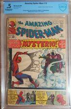 1964 Amazing Spider-Man 13 CBCS .5 1ST MYSTERIO App Not CGC