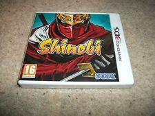 SHINOBI for Nintendo 3DS (2011) - PAL/UK (NEW & SEALED)