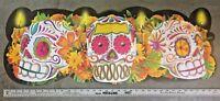 Day of the Dead Dia de los Muertos poster, 3 feet long! (Sugar skull)