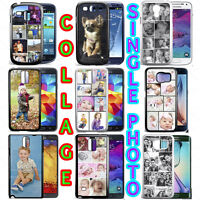 PERSONALISED CUSTOM PHOTO COLLAGE PHONE CASE FOR GALAXY S6, S6 EDGE S5 S8 S10