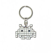 LOGOSHIRT Portachiavi Anello Chiavi KEY RING Space Invaders 4,5 x 3 CM NUOVO