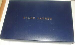 Ralph Lauren Navy Empty Gift Box With Some Tissue 42.5 x 28 x 5 cm