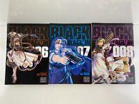 Black Lagoon Manga by Rei Hiroe Volumes 6 7 8 Viz Media English NEW