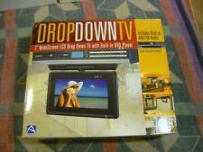 "Audiovox VE727 Drop Down Under Counter 7"" TV & DVD Player AM/FM Clock Radio NEW"