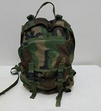 Military Issued Molle II Woodland Patrol Pack