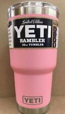 YETI 30 oz Tumbler MAGSLIDER Lid Limited Edition Pink Official DuraCoat
