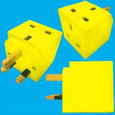 Ralladura de limón 2 vías 13amp enchufe GB 3 Pin Enchufe Adaptador Divisor, TV,