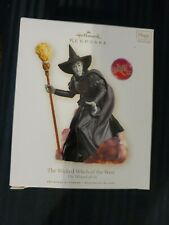 Hallmark Keepsake Magic Light And Sound. The Wicked Witch Of The West!