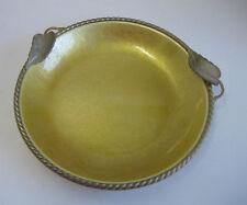 Vintage gold decorative dish ashtray