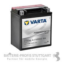 VARTA BATTERIA MOTO AGM ytx16-4 ytx16-bs 12v 14ah Incl. acido Pack 514902