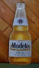 Modelo Especial Cerveza Beer Bottle Tin Sign 22 Inches! Man Cave Game Room EUC!
