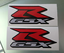 GSXR Fairing Decals / Stickers for Suzuki GSXR 600 / 750 / 1000 (175mm x 75mm)