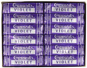 Choward's Violet Mints ( Pack of 24 )