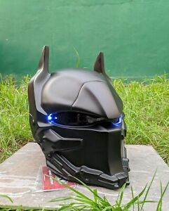 New Helmet Custom Batman Arkham  For Motorcycle ( APPROVED DOT/ECE )