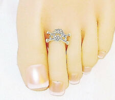 Toe Ring Toe Charm Ring Toering Bare Foot Jewelry Barefoot Jewelry Skull Ring