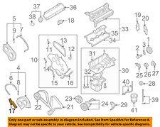 KIA OEM 03-06 Sorento 3.5L-V6 Engine-Rear Cover Right 2139339800