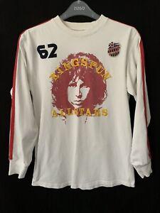 Jim Morrison The Doors ringspun Allstars t shirt Long Sleeve Cotton Jersey S