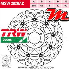 Disque de frein Avant TRW MSW 282 RAC KTM LC8 990 SMR, ABS (KTM LC-8 SM) 2012
