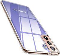 Hülle für Samsung Galaxy S21 Plus Ultra Silikon Schutz Handyhülle TPU Tasche