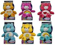 "Care Bears - ""Die Glücksbärchis"" Plüschtiere 27cm Wish Bear Bedtime Bär NEUWARE"