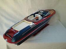 """Free Shipping High Quality Riva Aquariva L67cm Wood Model Boat 26"""""""