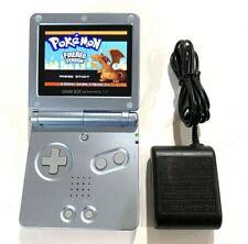 Pearl Blue Original Nintendo Gameboy Advance SP AGS 101 Backlit Back Light