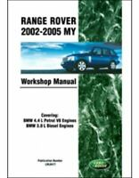 "Range Rover 2002 2003 2004 2005 Land Rover Workshop Repair Service Manual ""New"""