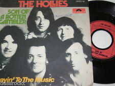 """7"""" - Hollies / Son of a rotten Gambler & Layin to the Music - 1974 # 0002"""