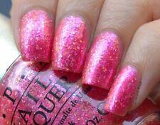OPI Designer Series DS TOURMALINE Rose Pink Iridescent Glitter Nail Polish 046