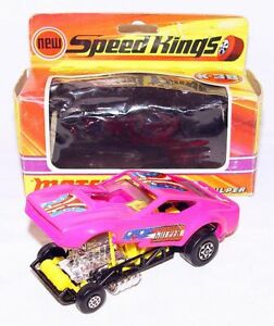 "Matchbox Lesney 1:43 FORD MUSTANG ""GUS GULPER"" DRAGSTER Model Car K-38 NMIB`72!"