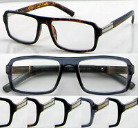 L431 Large Frame Reading Glasses +50+75+100+125+150+175+200+225+250+300+350+400