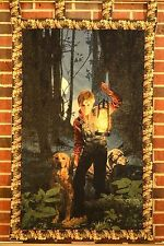 Memorial Guardians Woven Picture Tapestry Wall Hanging Art Home Decor Gift Idea