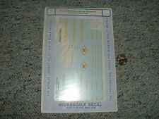 Microscale decals O Gauge 48-120 East Erie Commercial RR GE 70 85 ton switc  F29