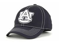 Auburn Tigers Top of the World NCAA Adult Fitted Cap Hat - Size: S/M