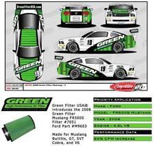 Mustang Bullitt Green Performance Air Filter # 7051