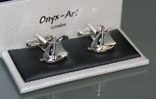 Cufflinks - YACHT Sail Boat Design * New * Gift Boxed