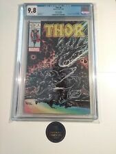 THOR 6 Kyle Hotz Variant CGC 9.8 Black Winter Silver Surfer 4 Homage Cover 2020