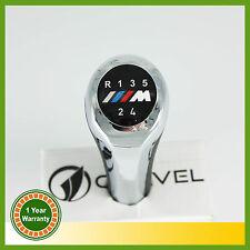 5 Speed Gear Shift Knob Chrome M Polish For BMW 1 3 5 6 Series X1 X3 X5
