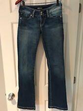 "Serfontaine ""Low Pro"" Blue Denim Jeans Womens Boot Leg Size 26"