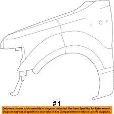 FORD OEM 09-14 F-150-Front Fender Quarter Panel Left BL3Z16006A